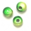 Miracle Bead Round 4mm Green 2-Tone